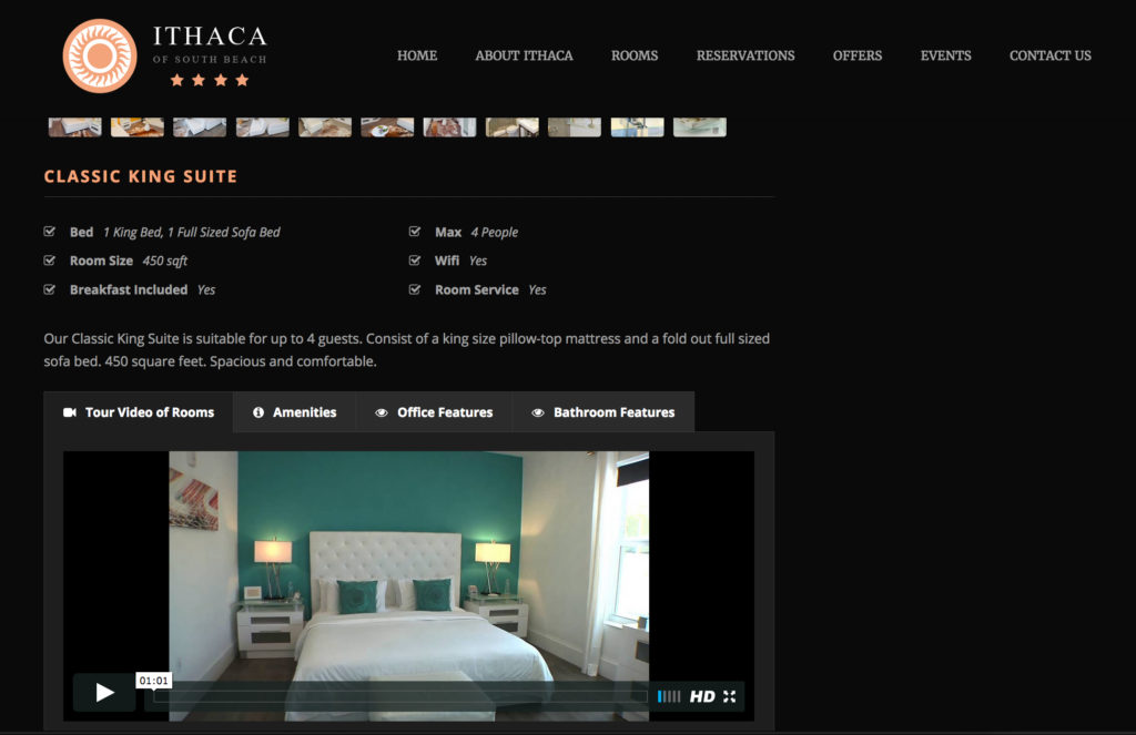 Ithaca South Beach - Room Tours